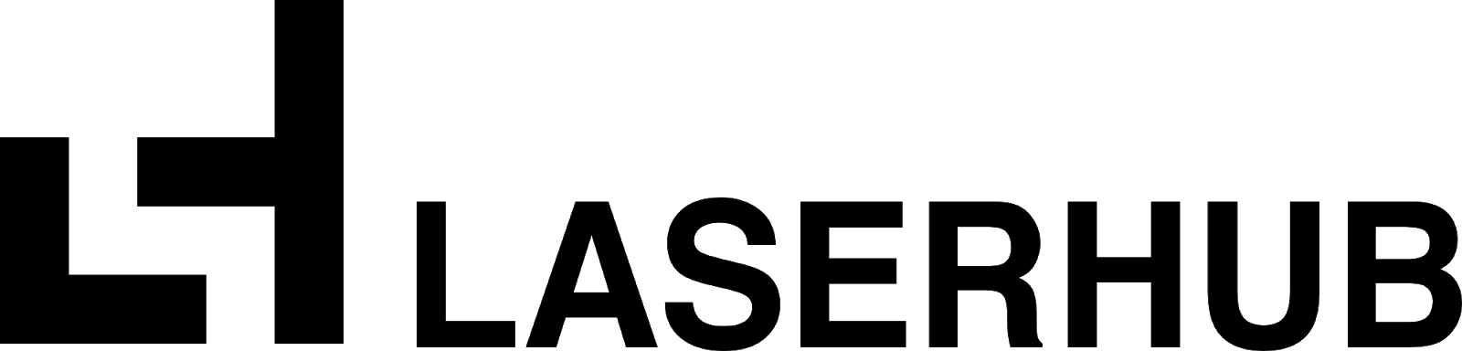 LaserHub logo